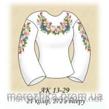 Заготовка сорочки для вышивки бисером АК 13-29