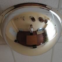 Купольное сферическое зеркало 600/360