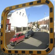 Дзеркало безпеки для  виробництва INDU 600*800