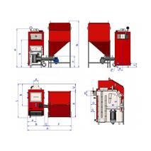 Котел водогрійний твердопаливний «РЕТРА-4М» 150 кВт