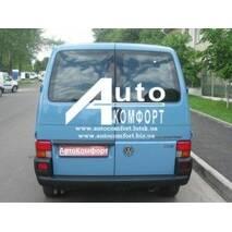 Заднее стекло (распашонка правая) без электрообогрева на Volkswagen Transporter Т-4 (Фольксваген Транспортер Т-4)