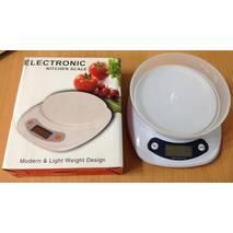 Весы кухонные электронные Kitchen Scale 5522, 5 кг
