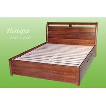 """Кровать из натурального дерева """"Венера"""""""