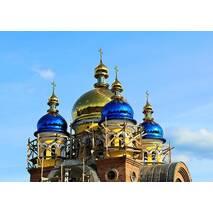 Церковні купола з напиленням під колір золота
