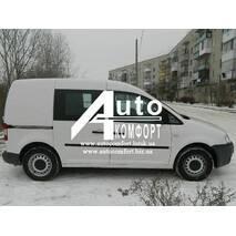 Передний салон, правое окно (внахлёст) на автомобиль VW Caddy 04- (Фольксваген Кадди 04-)