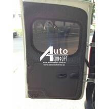 Заднє скло (сорочечка ліва) без електрообігріву на автомобіль Renault Kangoo 08 - (Рено Кангу)