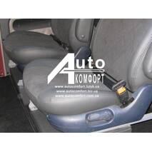 Автомобильный двухточечный ремень безопасности (черный)