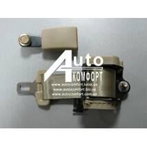 Автомобильный двухточечный ремень безопасности на катушке (инерционный, сертифицированный, бежевый)