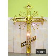 Хрест накупольний № 017