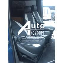 Удобные раскладные сиденья-трансформеры вместо двойного (спарки)
