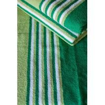 Полтенце махровое зеленое