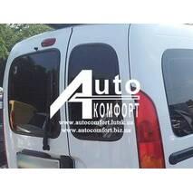 Заднє скло (сорочечка права) без електрообігріву на автомобіль Renault Kangoo 96-08 (Рено Кангу)