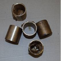Втулка шатуна двигателя 1Д12, 1Д6, 3Д6, Д12,  В46-2, В-46-4, В-55
