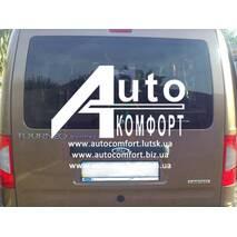Заднее стекло (ляда) с э. о. и отверстием на Ford Transit (Tourneo) Connect (Форд Транзит (Торнео) Коннект)