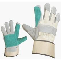 """Кожаные комбинированные перчатки """"Фалко"""""""