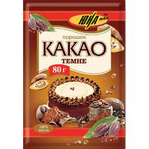 Какао-порошок темний, 80г