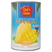 Манго тайське жовте у сиропі (слайси) 420 гр
