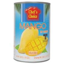 Манго тайский желтый в сиропе (слайсы) 420 гр