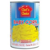 Бэби кукуруза в рассоле (целая, размер S) 420 гр