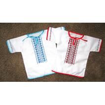 сорочка вишита для дівчинки на хрещення
