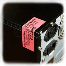 Індикаторна пломба-наклейка 20х50 мм