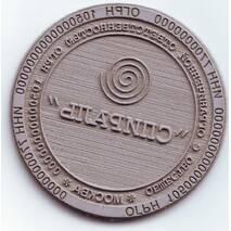 Печать круглая диаметром 40 мм, клише