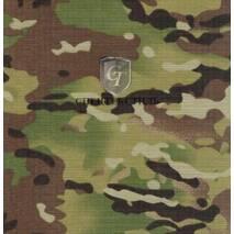 Ткань Рип-Стоп камуфлированный милитари СVC