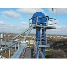 The cereal bucket elevators 50/7,5