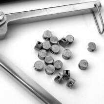 Пломбы свинцовые инкассаторские 10 мм