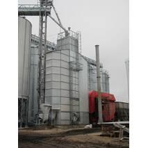 Зерносушилки шахтные на отходах типа ЗШ.Р