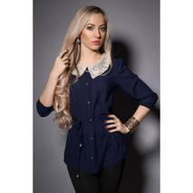 Жіноча блуза з красивим коміром