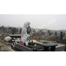 Статуя девушки из гранита (на могилу)