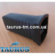 Чорний маскувальний елемент для приховання кабелю (дроти) для ЭлектроТэна, black Польща
