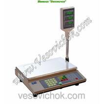 Весы торгові з акумулятором ВТА-60/15-5-А (15 кг )