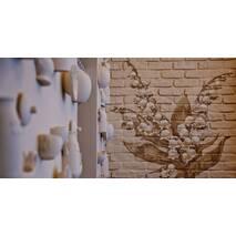 """Гіпсові елементи """"Посуд"""" для декорування стін"""