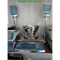 Весы торгові ВТД-30СЛ ECS (30 кг)