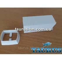 Білий маскувальний елемент для приховання кабелю (дроти) для ЭлектроТэна, white Польща