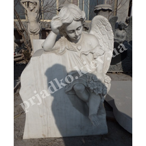 Скульптура скорбящего ангела для памятника