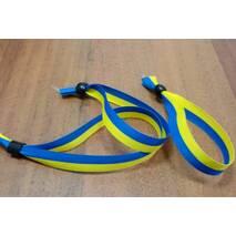 "Тканый браслет ""WOVEN-15-braid"" (двуколор)"