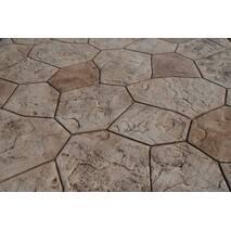 Декоративна підлога з рельєфним покриттям (фактурою)
