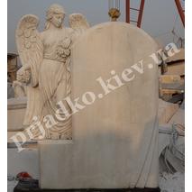 Мраморный комплекс с ангелом на могилу
