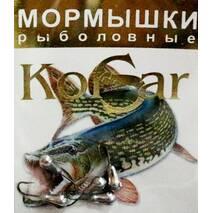 Мормышка Korsar Грушевидная (уп.20х5шт) оксидированный темный
