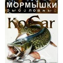 Мормышка Korsar Зорька (уп.20х5шт) оксидированный темный