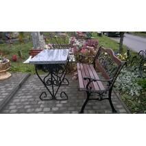 Гранитный стол (прямоугольный) з покостовки