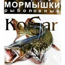 Мормышка Korsar Личинка (уп.20х5шт) оксидированный