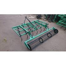 Культиватор пружинный для мини-тракторов ПК-1,6 с грудобоем