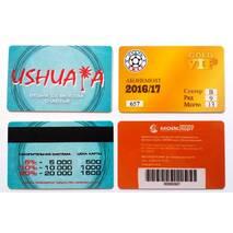 Пластикові візитні картки, 100 шт.