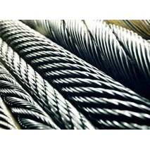 Канат з нержавіючої сталі  ДІНІВ 3053 (ГОСТ 3063-72) 3,00 мм,  Конструкція 7х19