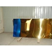 Лист 1000х2000х0,4 мм AISI 430 под золото