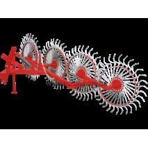 Грабли колесно-пальцевые «Солнышко»